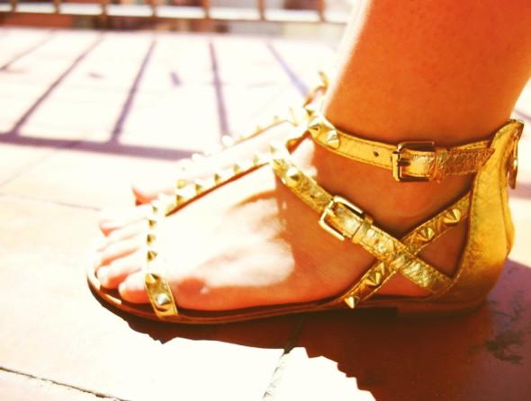 chaussures shoes ash malibu gold doré_effected