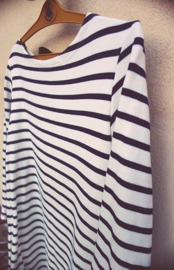 petit bateau robe dress pull sweat shirt bleu blue noeud bow black white blanc noir stripes rayas rayures 2013 2014_effected