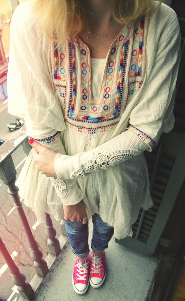 tenue look outfit robe