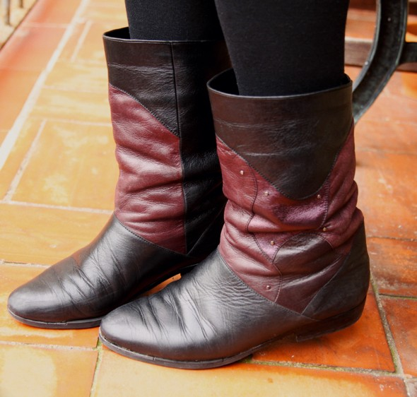 bottines claudine salamander