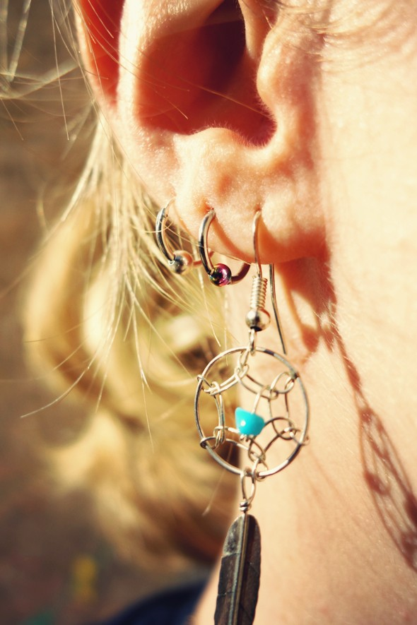 earrings harpo boucles d'oreille_effected