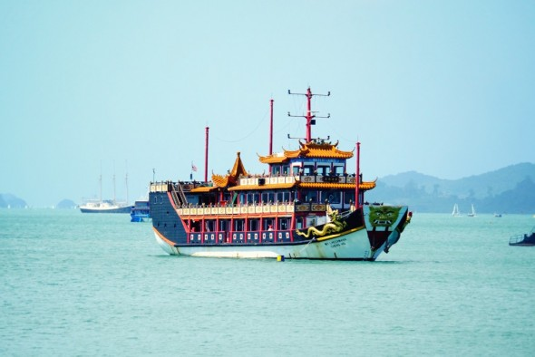 Langkawi boat_effected