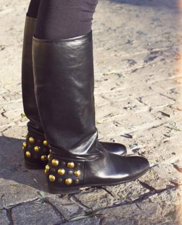 gucci babouska bottes cloutees