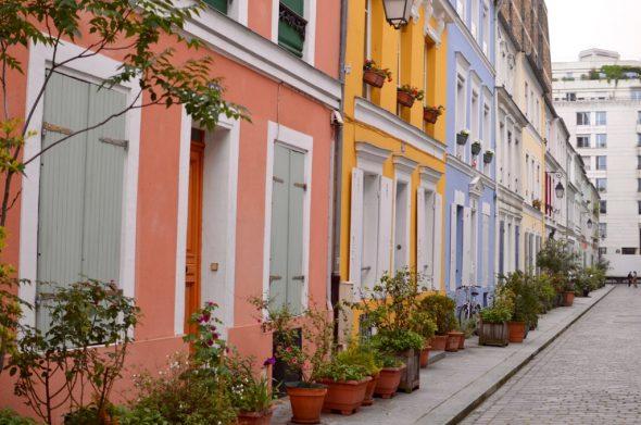 Rue Cremieux facades