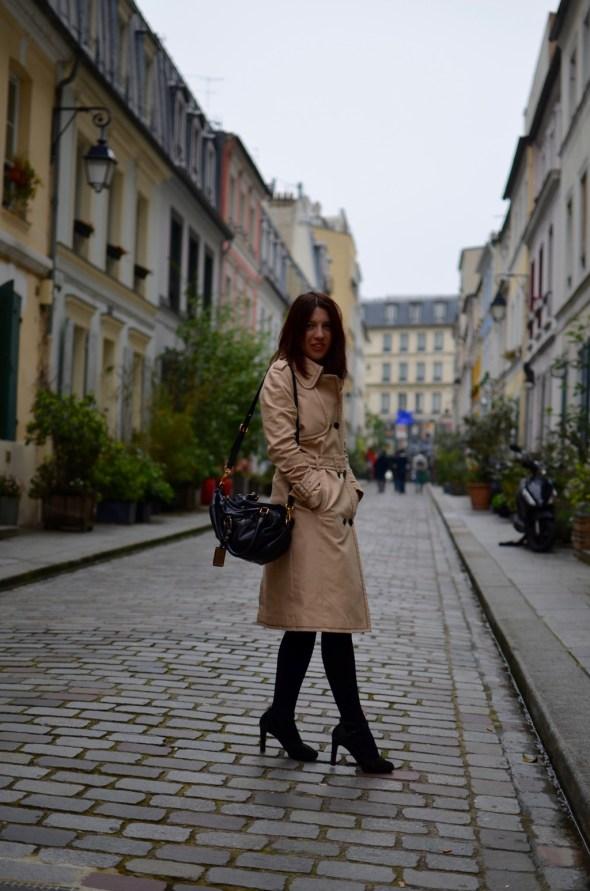 Cremieux Petite robe noire trench Claudie Pierrot