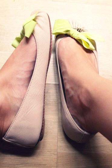 chaussures noeuds