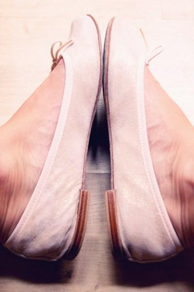 ballerines Repetto cendrillon