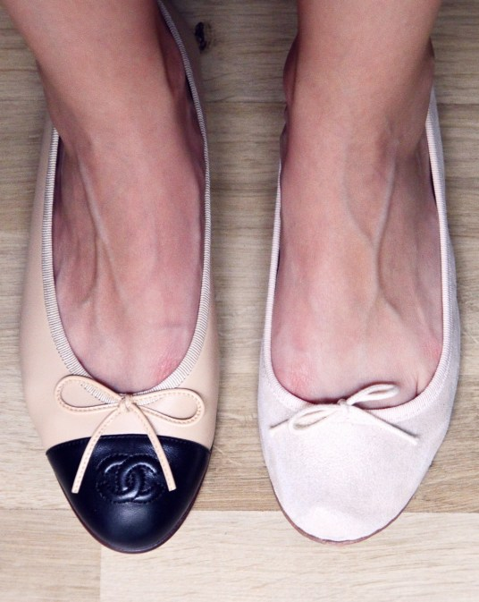 chanel vs repetto