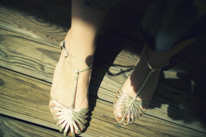mango_straps_shoes_gold_or_dore_cute_flats_effected