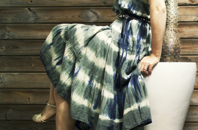robe_longue_mango_straps_bash_tie_dye_dress_midi_robe_verte_blanche_bleue_blue_green_kaki_khaki_summer_2016_ete_mode_fashion_blog_effected