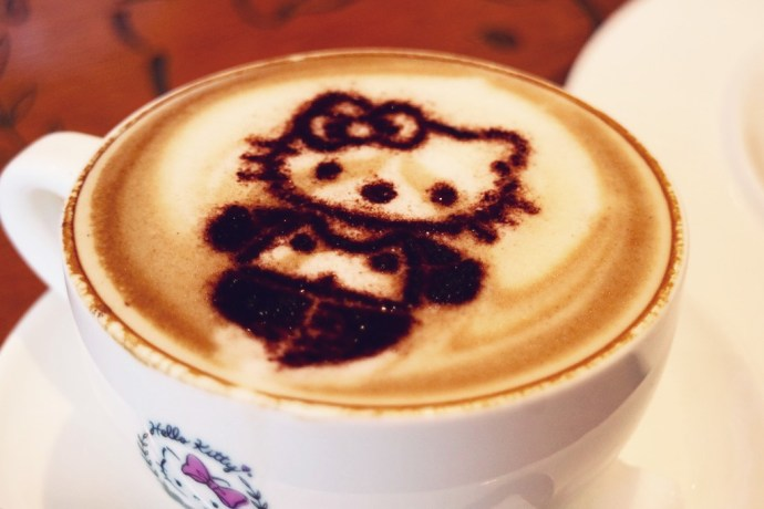 cafe hello kitty