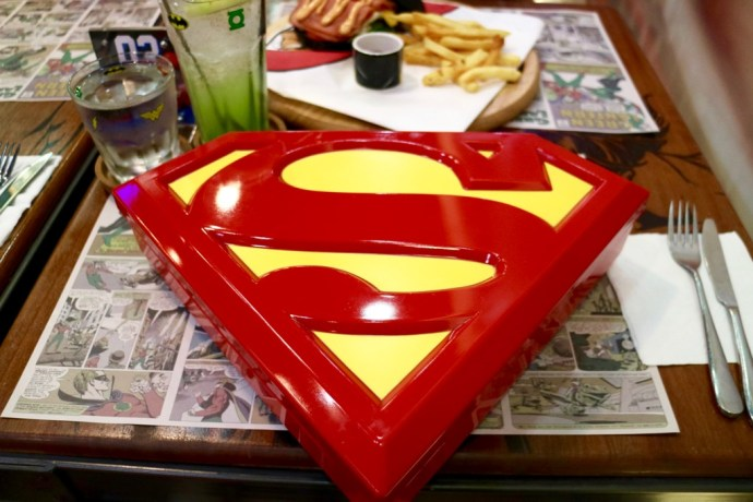 DC Comics Super Heroes Cafe Lunch Box Superman