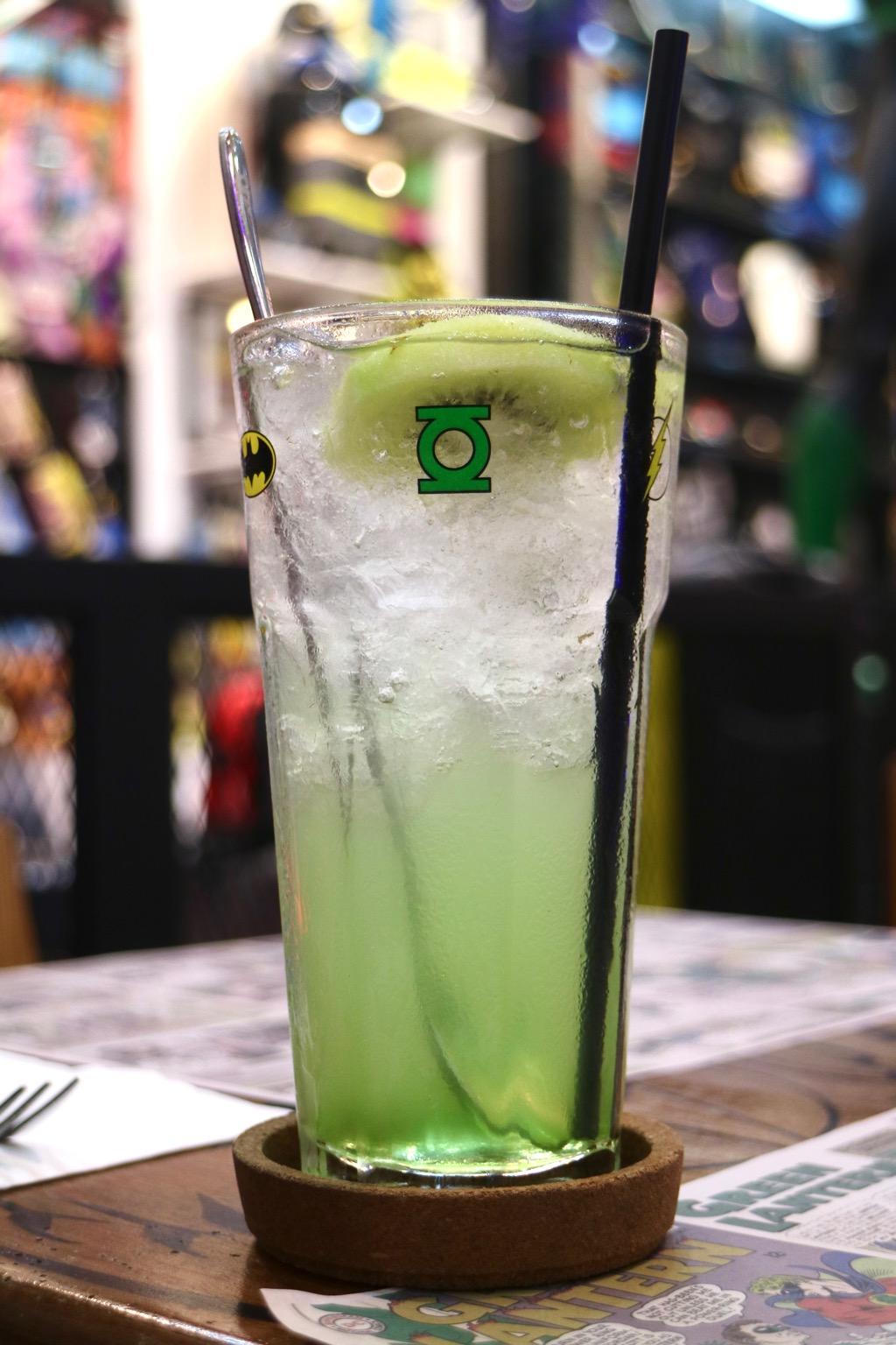 Green Lantern Mocktail