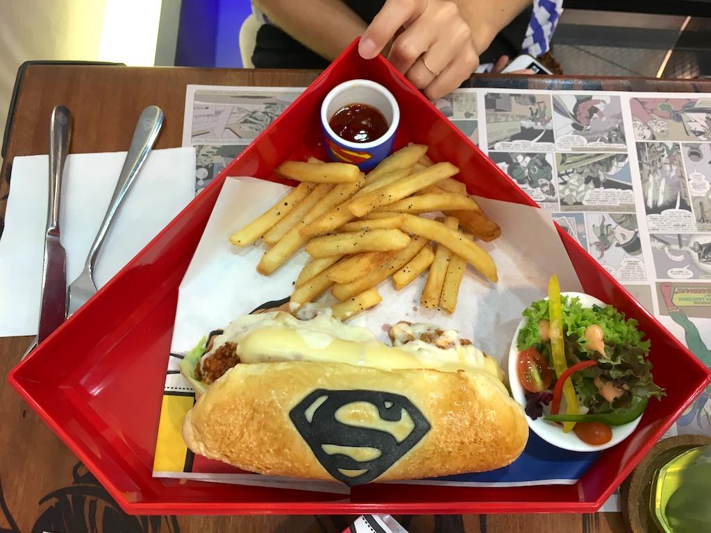Hot Dog Superman