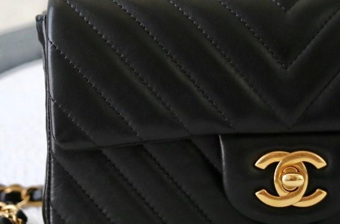 CC fermoir Chanel