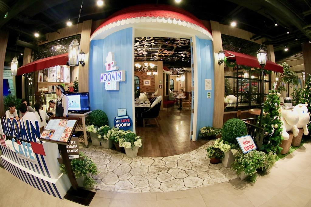 Entree Moomin Cafe Bangkok