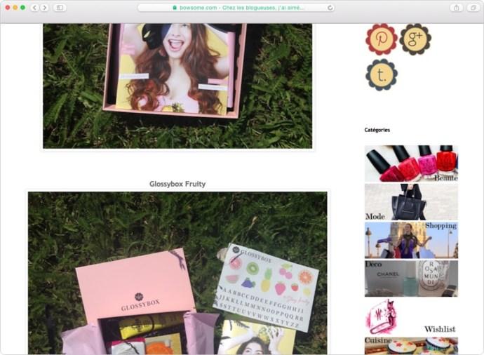 glossy box juin 2017
