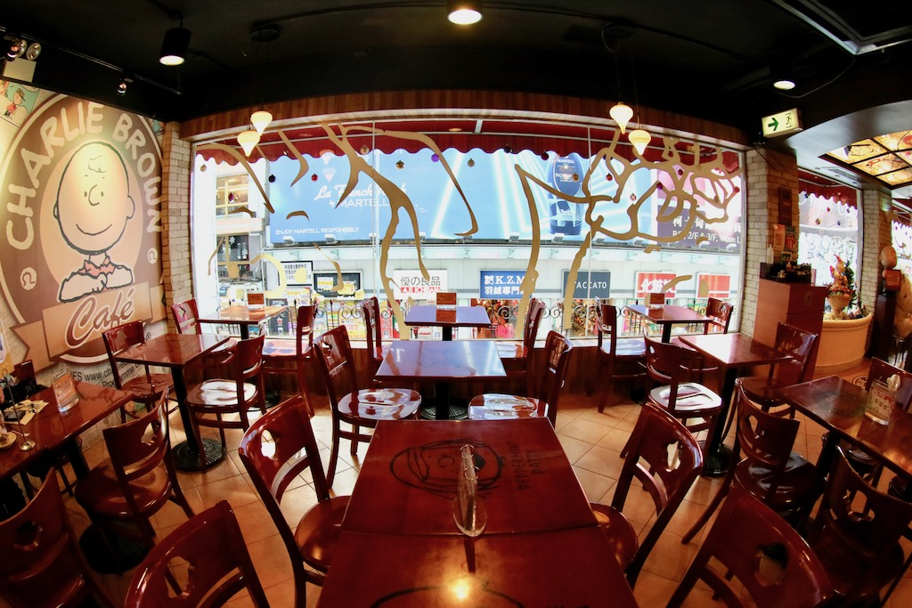 Snoopy cafe