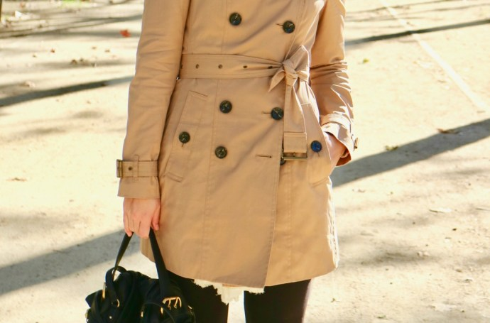 trench-coat burberry londres