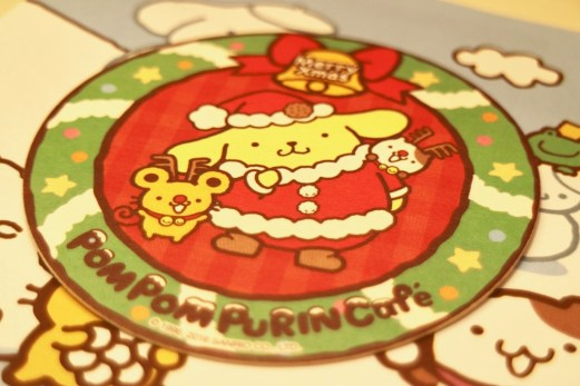 coaster sanrio christmas