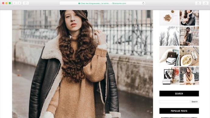 blog mode look