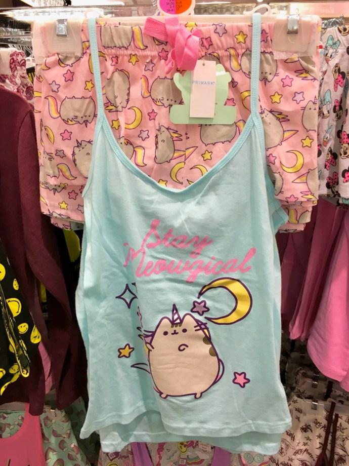 pyjama pusheen primark