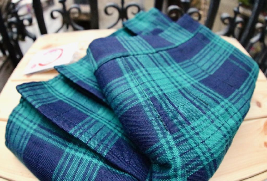 mini jupe plissee carreaux