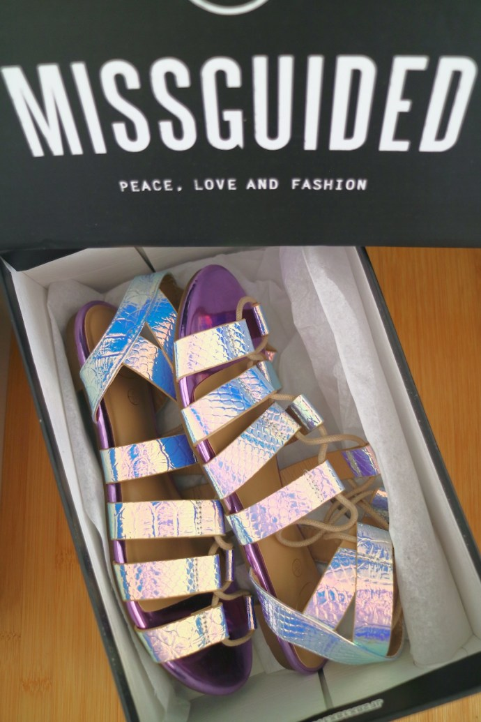 chaussures missguided sandales