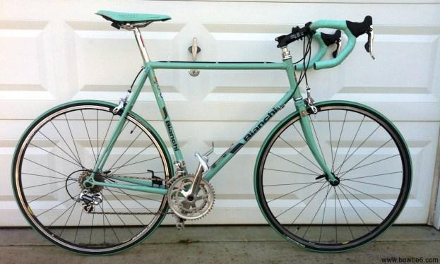 Restoring a Vintage Bianchi Road Bike - The Details - the bowtie6 blog