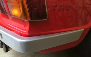Rear bumper detail