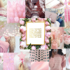 """Rose Quartz"" Bowtiful Wallpaper – January '16"
