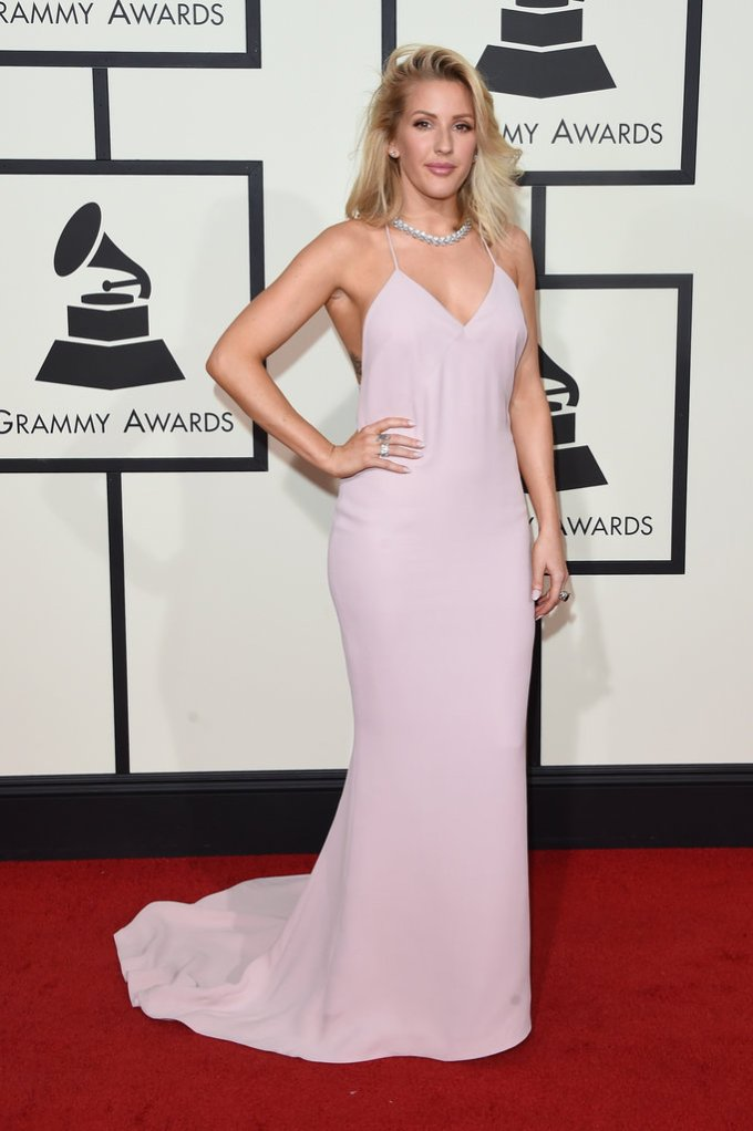 Bowtiful Life NYTimes Grammys Ellie Goulding in Stella McCartney