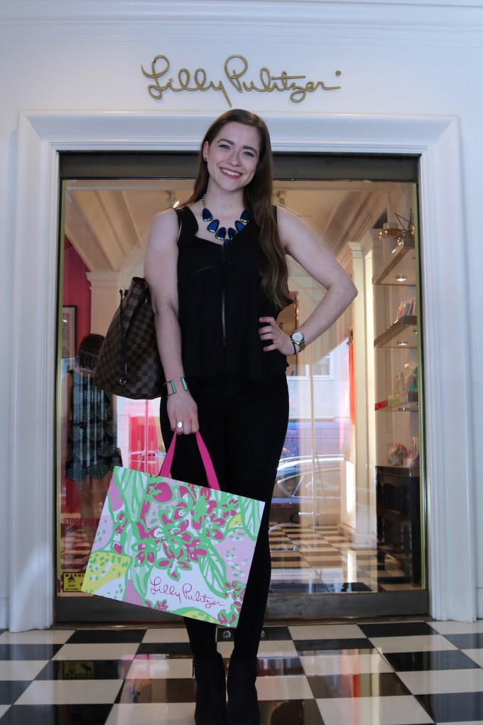 Bowtiful Life New York City Lilly Pulitzer Madison Avenue May 2016