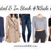 Updated & In Stock #NSale Picks
