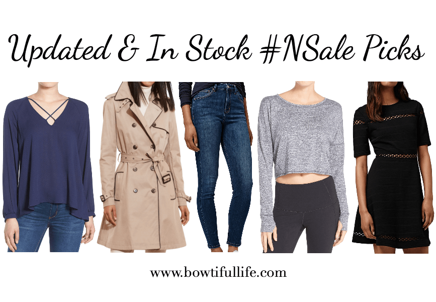Updated & In-Stock Nordstrom Anniversary #NSale Picks 2016 | Bowtiful Life www.bowtifullife.com