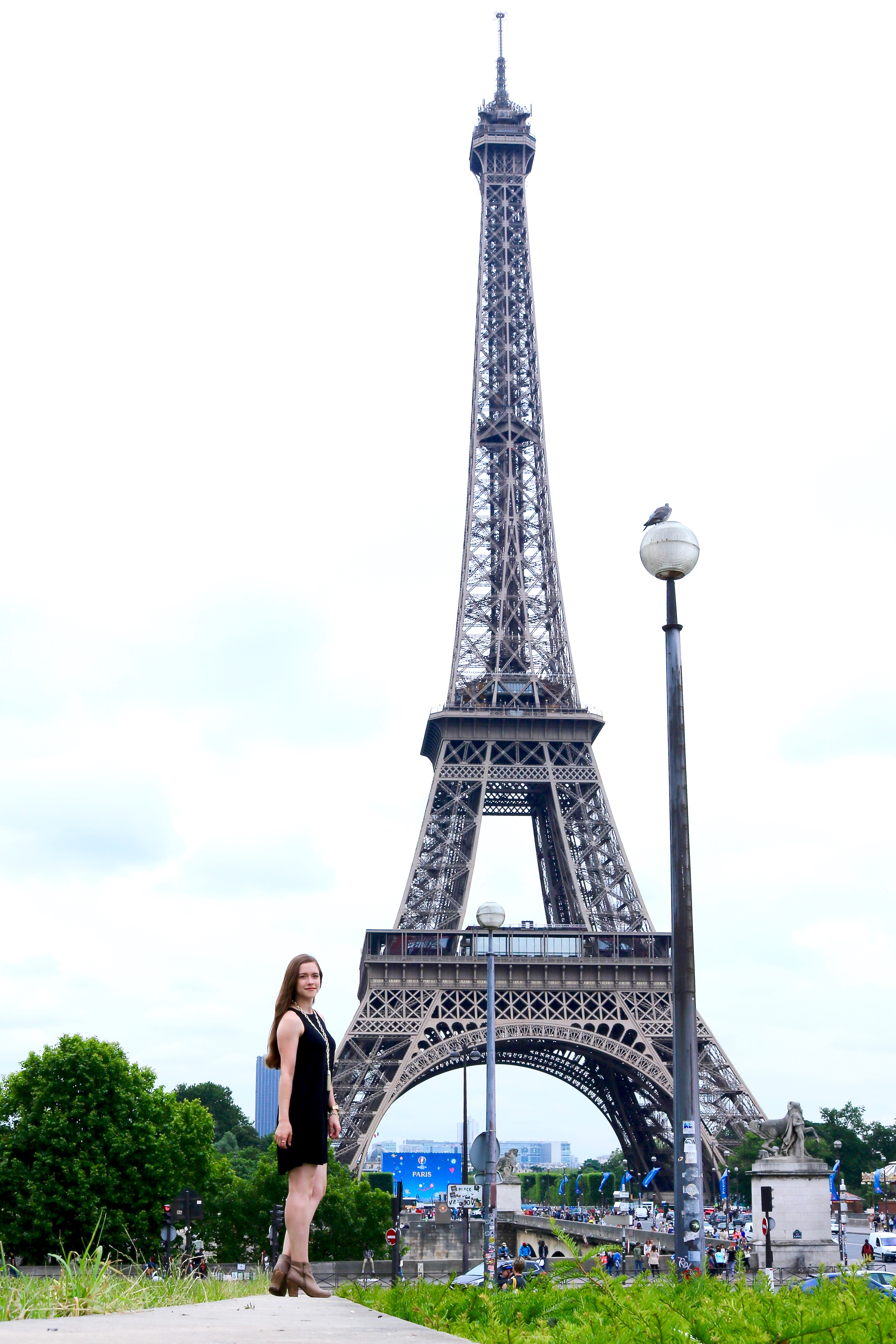 Paris Eiffel Tower 2016 Outfit | Bowtiful Life 7