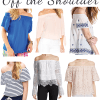 Off the Shoulder Top Picks