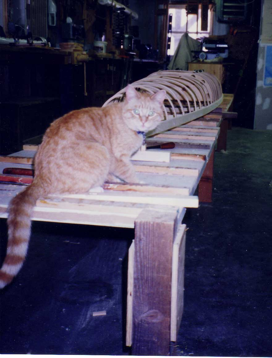 Tigger with boat frame
