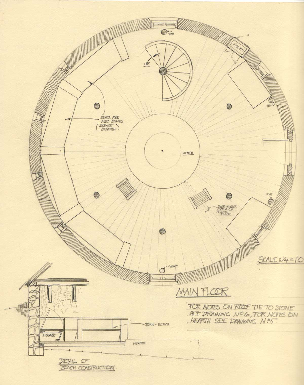 Floor Plan of Wheelhouse