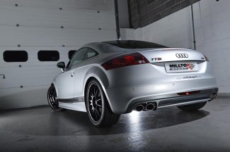 Audi TT Mk3 TTS 2.0TFSI Quattro | 2015 - 2020 |  Resonatedwith Polished Oval Tips - EC Approved