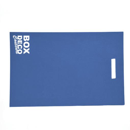 Carte echantillon bleu ocean BOXDECOCOULEURS