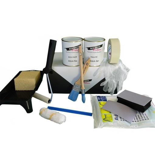 kit peinture pailette
