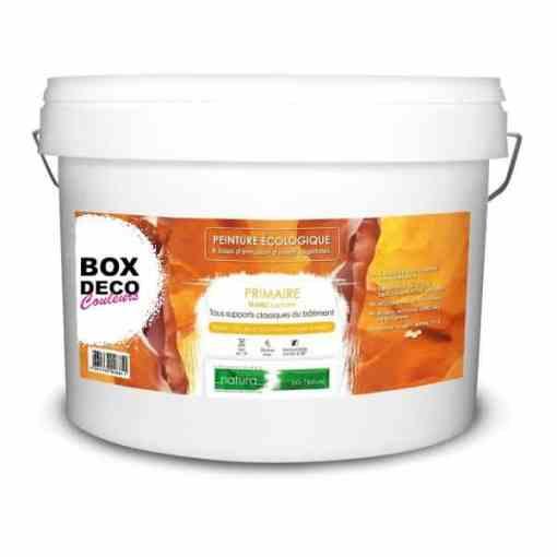 BOX DECO COULEURS NATURA Primaire bio ecologique 10L