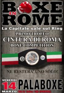 Torneo Caestus Boxe Competition