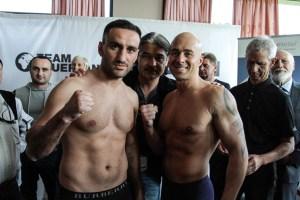 Karo Murat gegen Benjamin Simon - Wiegen