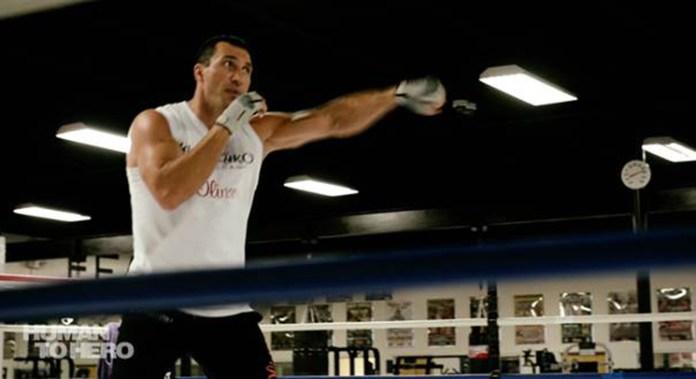 Wladimir Klitschko - Training (CNN International)
