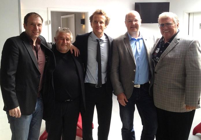 Stefan Braune, Volker Grill, Thomas Pütz, Michael Facklam und Ebby Thust