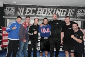 Weltmeister Ruslan Chagaev und EC-Boxing Team