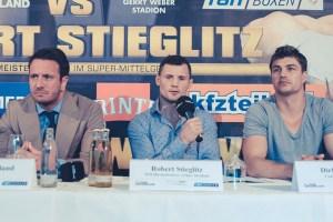 Pressekonferenz Abraham vs. Stieglitz IV: Final Showdown!