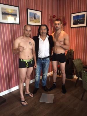Nikola Milacic, Erol Ceylan und Zeljko Bojic